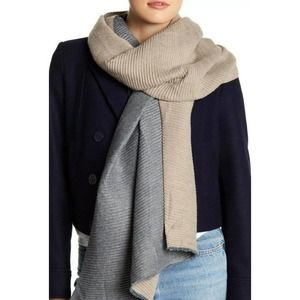 14th & Union Pleated Double Sided Scarf